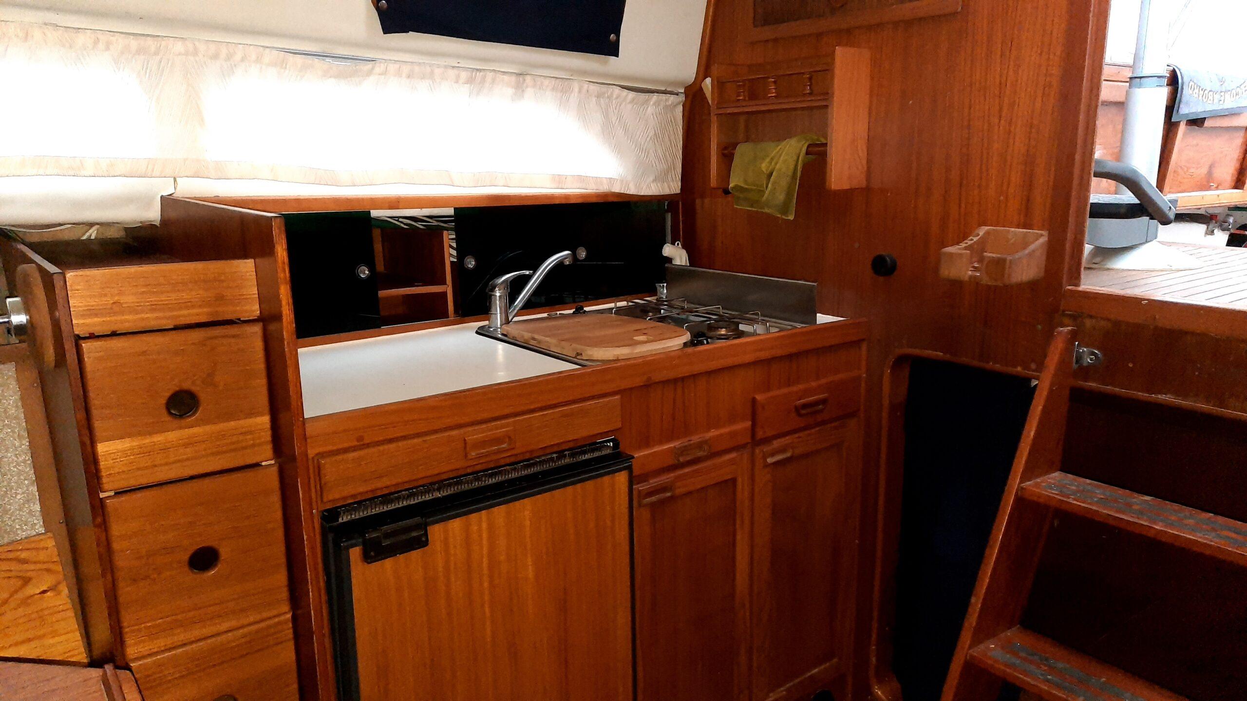 båt fjord kök