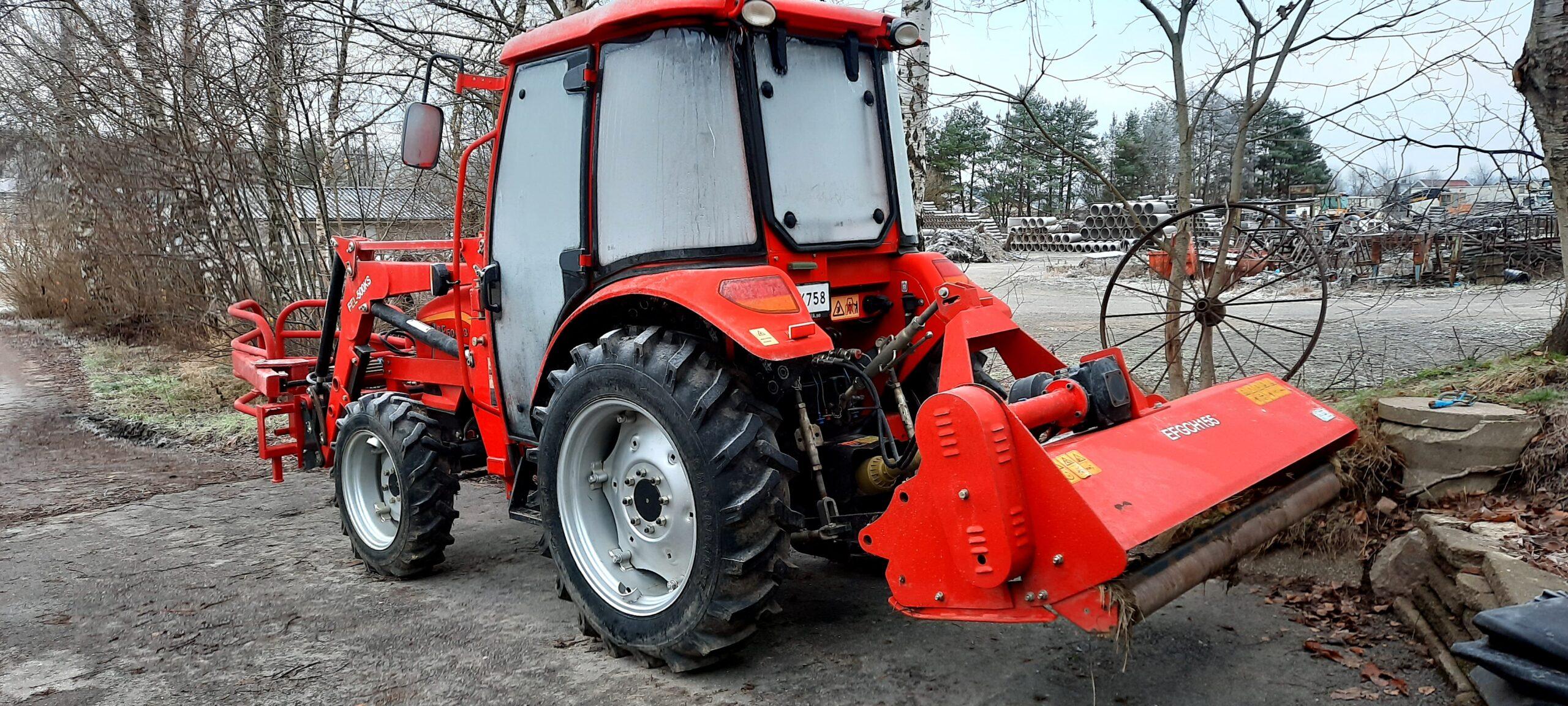 Traktor bak