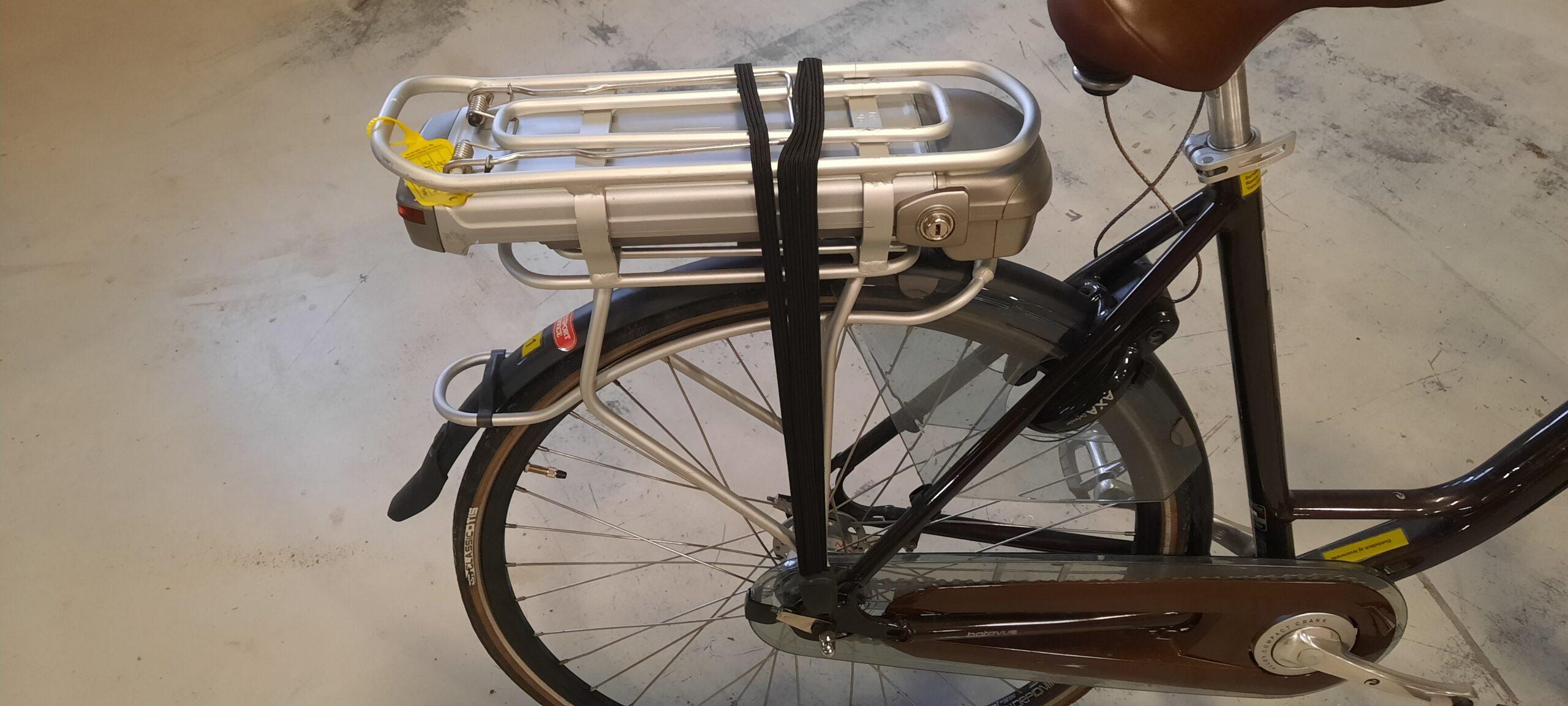 Batavus elcykel batteri