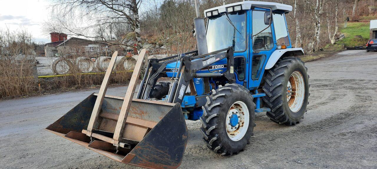 ford traktor fram